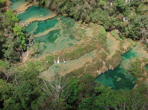 vista desde el mirador parque nacional semuc champey