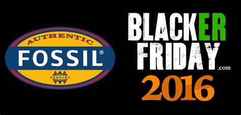 Fossil Bf Black fossil black friday 2016 deals sale