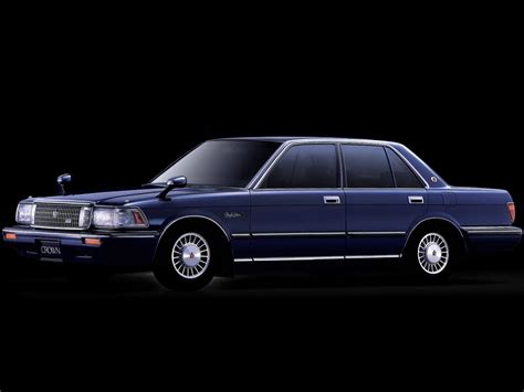 Toyota Crown Zero Toyota Crown Royal Saloon G 3 0 Sedan Ms137 09 1987 10 1991