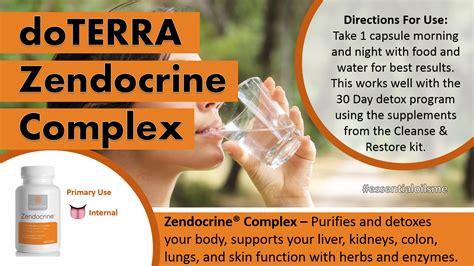 Doterra Zendocrine Detox Supplement by Excellent Doterra Zendocrine Complex Benefits
