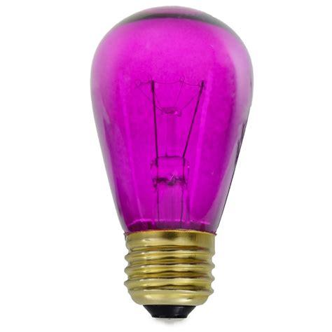 transparent purple light bulbs