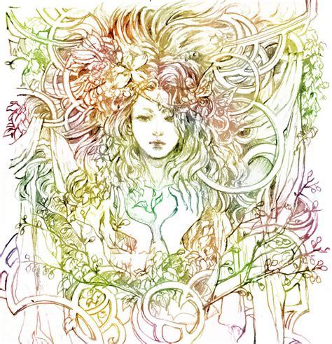 art design nature mother nature by chibi oneechan on deviantart