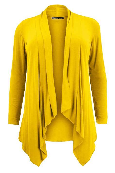 Cardigan Size Jumbo And new plus size hanky hem jumbo waterfall cardigans