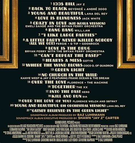 the switch 2013 music soundtrack complete list of in depth great gatsby dawn com dawn com