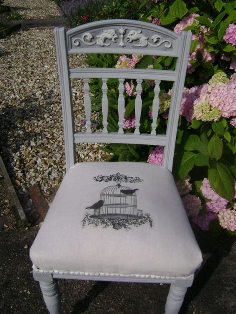 autentico chalk paint linen antique oak chair painted in autentico vintage soft grey