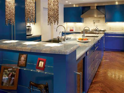 kitchen blue photo page hgtv