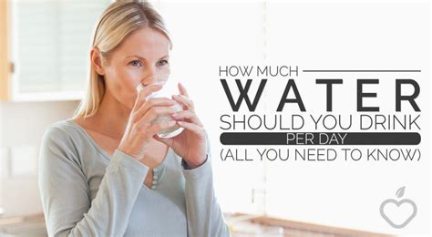 what do you need for a cocktail how much water should you drink per day all you need to