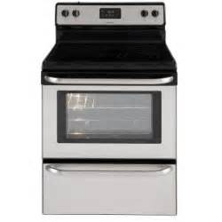 home depot electric stove frigidaire 4 8 cu ft electric range in stainless steel