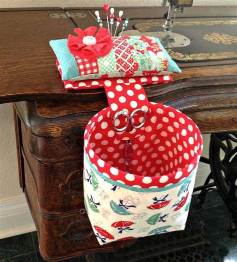 Handmade Pincushions Patterns - handmade sew in style thread catcher with detachable