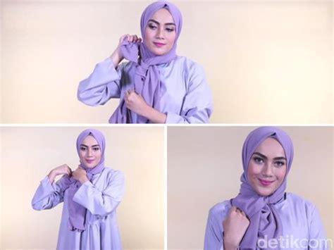 tutorial hijab ikat samping  mudah  aplikasikan