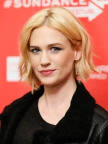 january jones actress hairstyles january jones hair falling out coming out in clumps