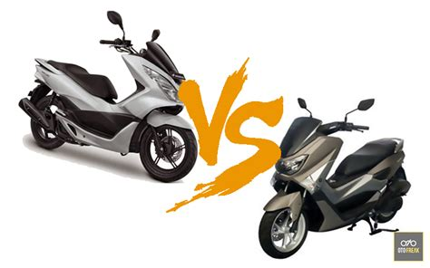 Pcx 2018 Vs Nmax 2018 by Honda Pcx 150 Vs Yamaha Nmax 155 Indonesia Review 2018