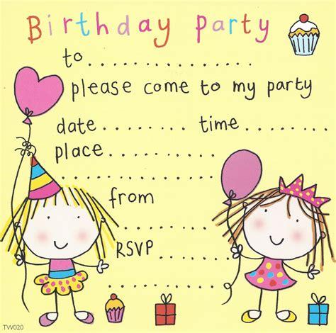free invitations for children s birthday invitations birthday invitations