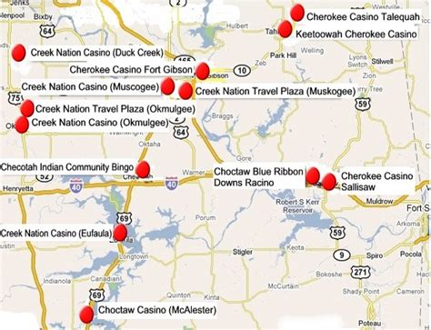 map oklahoma casinos map of casinos in oklahoma search results calendar 2015