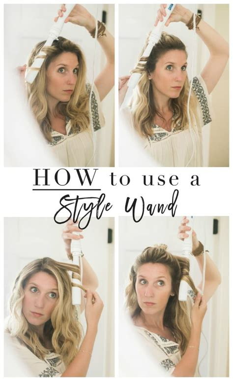 how to use a curling wand the small things blog summer hair how to use a styling wand video lynzy co