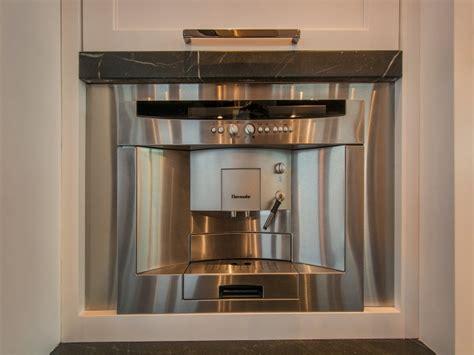 built  coffee machine design ideas