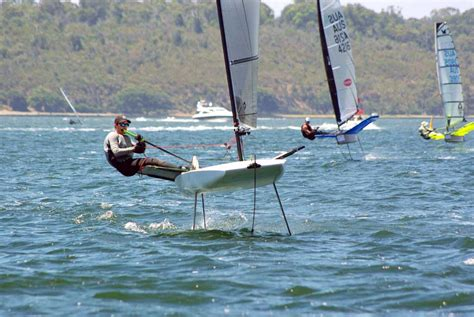 foiling catamaran for sale australia standby for take off foiling week