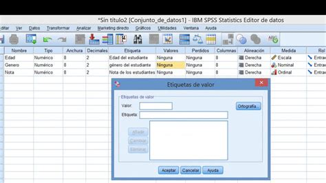 manual de spss 22 ibm spss tutorial c 243 mo ingresar datos youtube