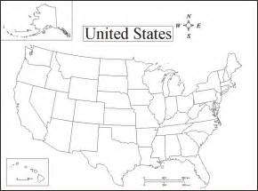 map of state of usa geography printable united states maps