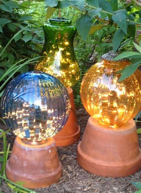 diy adorable garden globes   beautify  garden