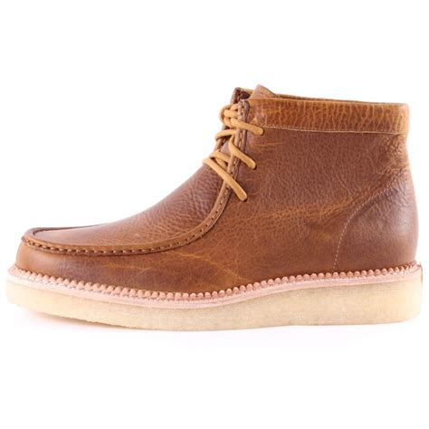 clarks mens boots brown clarks originals beckery hike mens ankle boots in brown