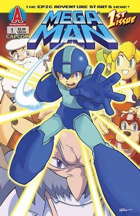 Mega man comic book series online