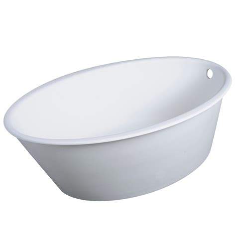 oval bathtubs modern oval one soaker bathtub zuri furniture