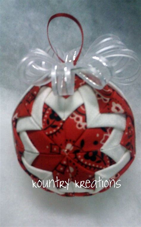 Handmade Fabric Ornaments - 591 best no sew ornaments images on