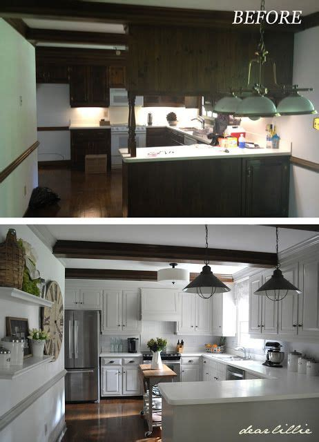 dear lillie our kitchen makeover on a budget phase 1