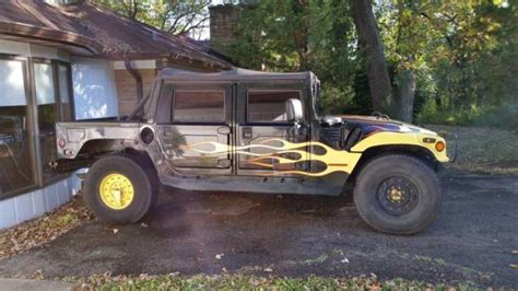 automotive air conditioning repair 1995 hummer h1 transmission control rare hummer h1 1995 gasoline engine hmco classic hummer h1 1995 for sale