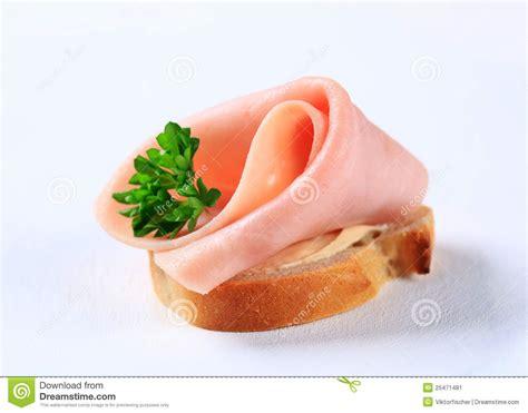 ham canape stock image image 25471481