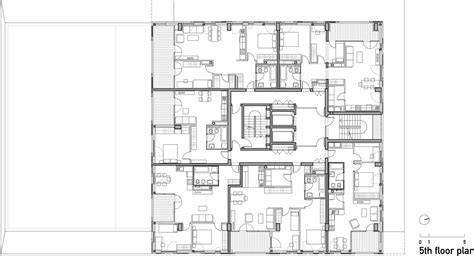 residential building floor plan architecture photography 5th floor plan 111510