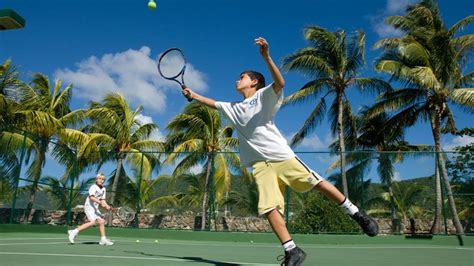 curtain bluff tennis the best places to play tennis in the caribbean ruby a