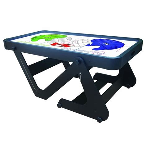 Folding Air Hockey Table Bce 6ft Typhoon Folding Air Hockey Table H6d222 All