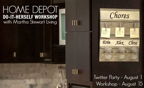 home depot do it herself workshop