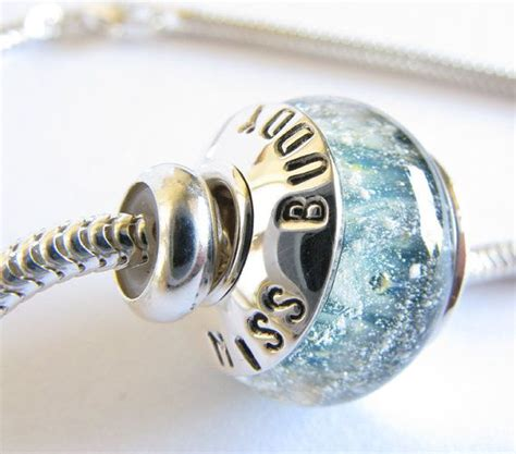 memorial jewelry glass bead cremation ash necklace sterling by poseidonsbooty memorial jewelry