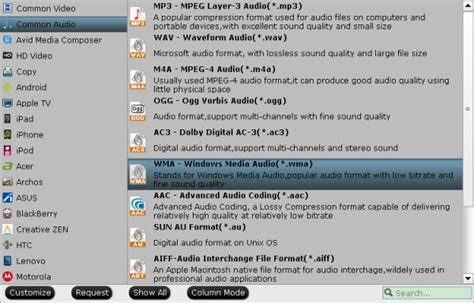 format audio oma what is headphone audio on a television