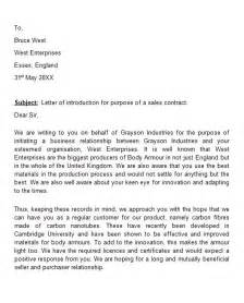 Business Letters Introduction 40 letter of introduction templates amp examples