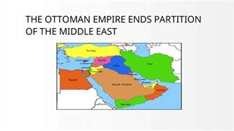 partitioning of the ottoman empire the ottoman empire partition