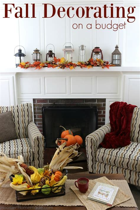 fall decorating on a budget hoosier