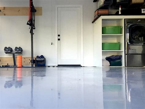 Cost To Epoxy 2 Car Garage by How To Refinish A Garage Floor How Tos Diy