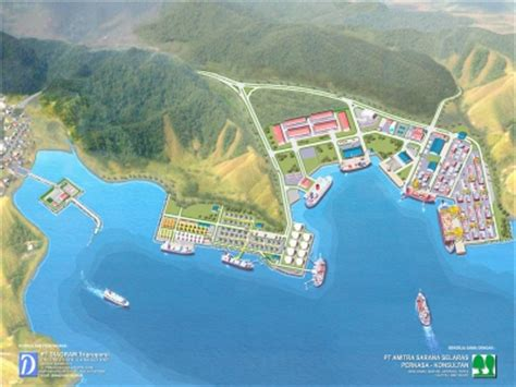 layout pelabuhan peti kemas our projects
