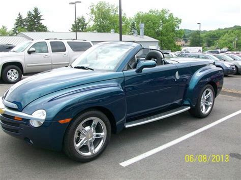 car owners manuals for sale 2005 chevrolet ssr regenerative braking sell used 2005 chevrolet ssr aqua blur 6 speed manual in bakerstown pennsylvania united states