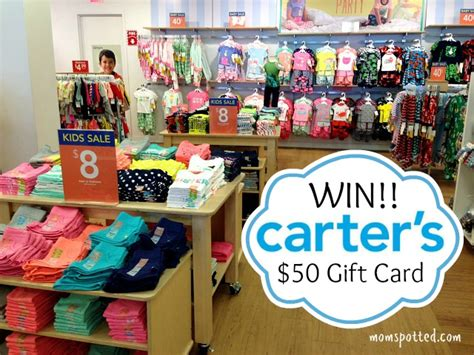 Carter S Gift Card - carter s baby and kid up to 50 off sale 50 gift card giveaway