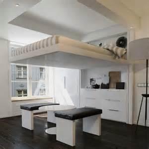 lit plafond lit escamotable astucieux