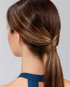 Low Ponytail Hairstyles Lulu S How To Runway Ready Low Ponytail Lulus