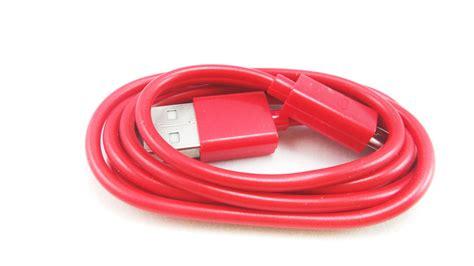 Kabel Data Lazada kabel data 1 meter v8 micro usb merah