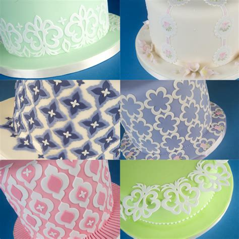 Cake Patchwork Cutters - patchwork cutters cake sugarcraft mix and match side