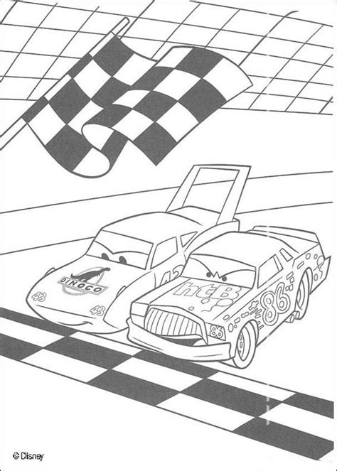 Race Track Coloring Cake Ideas And Designs Coloring Home Track Coloring Page