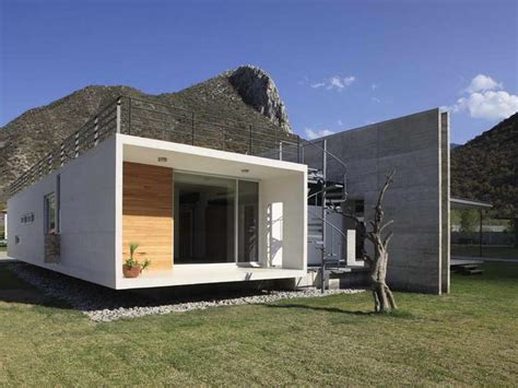 modern concrete house plans